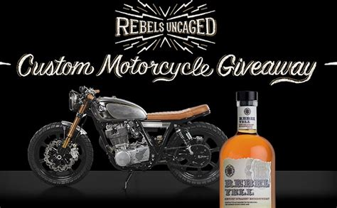 Motorcycle Giveaway 2017 - rebels uncaged sweepstakes sweepstakesbible