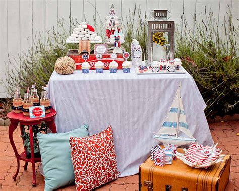 at home baby shower ideas ahoy it s a boy baby shower guest feature celebrations