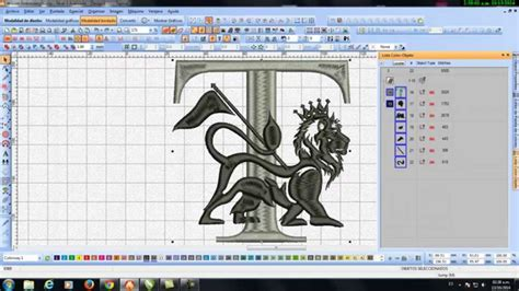Drawings 8 Embroidery Software by Transformar Un Dise 209 O De Corel A Wilcom Lucho Quequezana