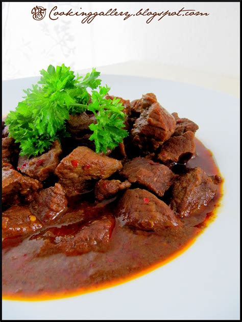 beef rendang cooking gallery
