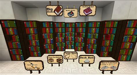 Minecraft Pedestal Fancy Sign Bibliocraft