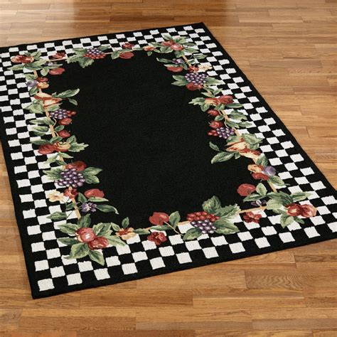 Fruit Kitchen Rug Sets Sonoma Hooked Fruit Area Rugs