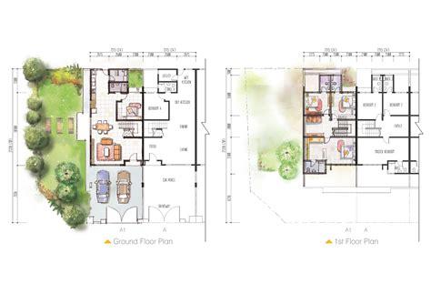 floor plan layout design duta phase 1
