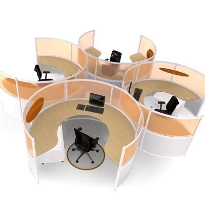 Circular Office Desks Circular Workstation Gharexpert