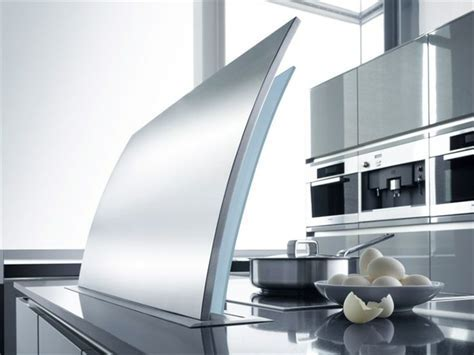 Retractable Stainless Steel Cooker hood FUTURA Cielo