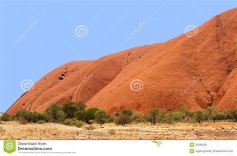 Landscape Structures Australia Impressive Australian Landscape With Uluru Ayers Rock In