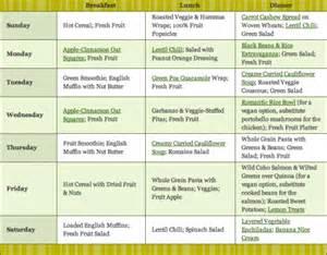 health starts here menu plan amp shopping list whole foods market