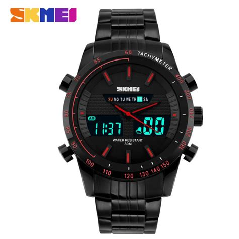 Skmei Jam Tangan Analog Digital Pria Wanita Ad0821 Anti Air skmei jam tangan digital analog pria 1311 black