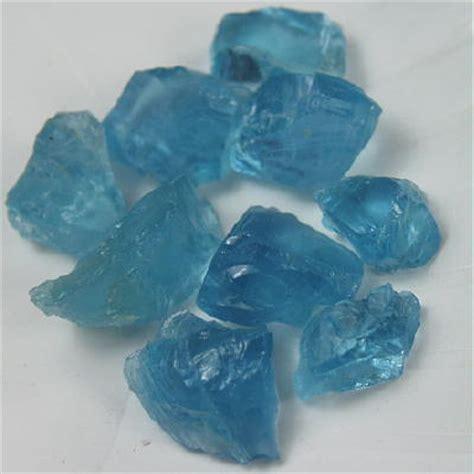 superb blue aquamarine facet ct gli 1 litnon