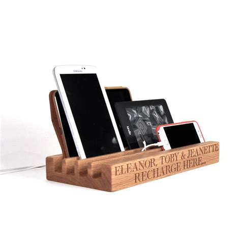 family charging station by the oak rope company