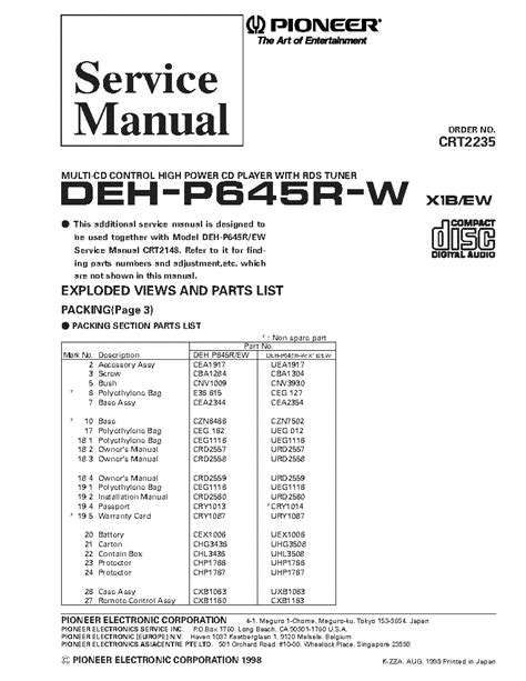 100 pioneer car stereo wiring diagram deh p3100 how