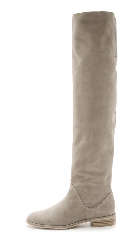 stuart weitzman rockerchic suede the knee boots