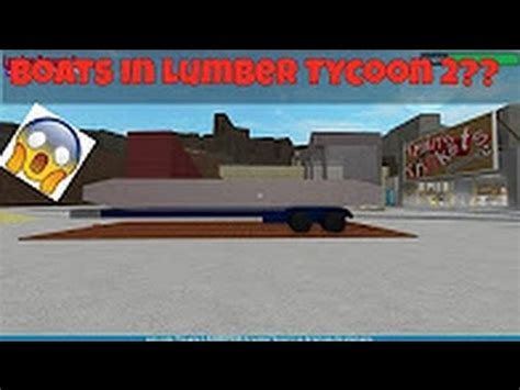 boat shop youtube boat shop found lumber tycoon 2 youtube