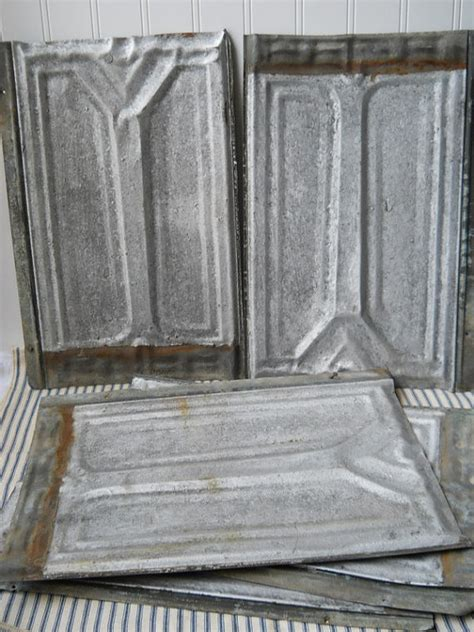 antique tin shingles vintage ceiling roof tins