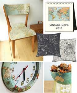 Decorating With Maps by Decorate With Maps Ideas How Skimbaco Lifestyle