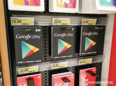 European Gift Cards - google play gift cards now available in six european countries android central