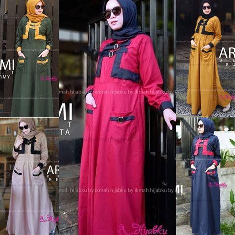 pakaian hijab murah arumi belt grosir baju muslim