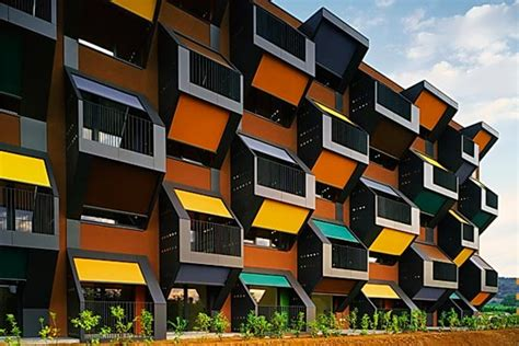 Housing Complex In Slovenia Is A Series Of Honeycomb Modular Apartments Inhabitat