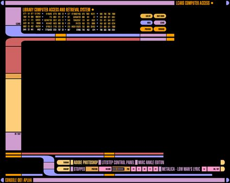 Lcars Desktop Wallpaper