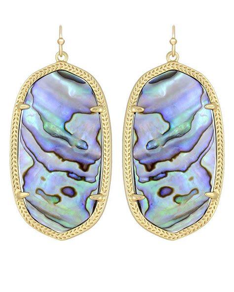 Danielle Earrings in Abalone Shell   from Kendra Scott   Love!