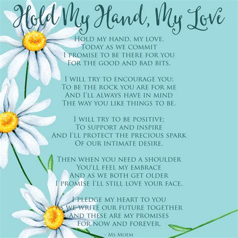 Wedding Vows Poems by Hold My My Wedding Vows Ms Moem Poems