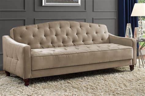 novogratz vintage tufted sofa sleeper ii pink novogratz vintage tufted sofa sleeper ii dhp furniture
