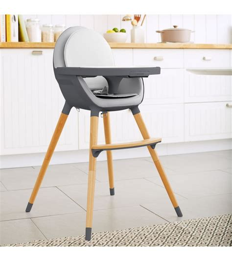 Convertible High Chair by Skip Hop Tuo Convertible High Chair Charcoal Grey