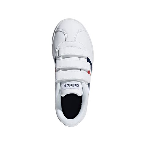 Adidas Vl Court 2 0 Shoes adidas boys vl court 2 0 shoes in white excell sports uk