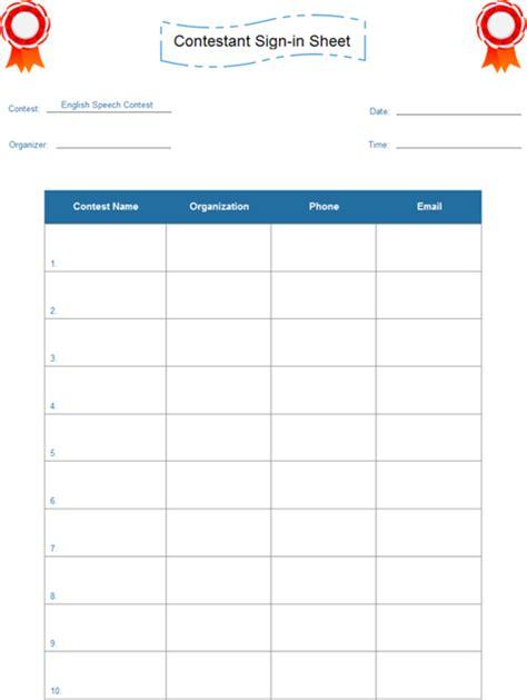 contest sheet speech contest forms