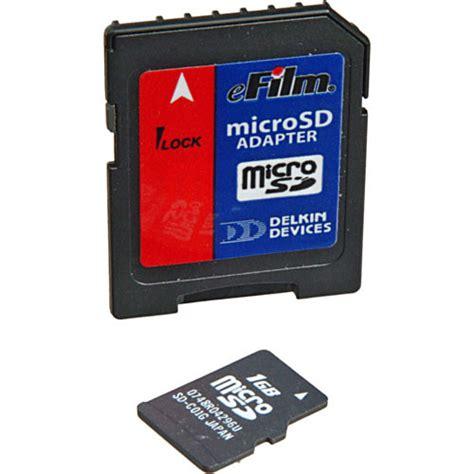 Micro Sd 1gb delkin devices 1gb microsd card ddmicrosdfls1 1gb b h photo