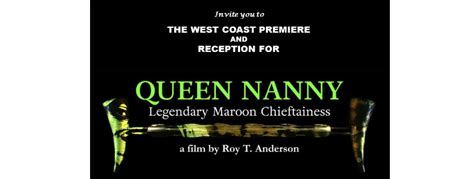 queen nanny film jamaica cultural alliance 187 part i of ii documentary on