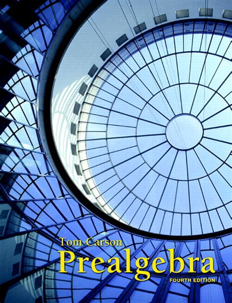 carson prealgebra 4th edition pearson