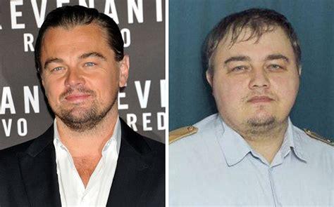 define celebrity origin leonardo dicaprio s russian doppelg 228 nger sets twitter