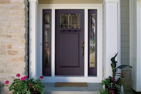 bold bright entry doors   builder magazine