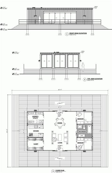Homes From Shipping Containers Floor Plans | shipping container architecture plans container house design
