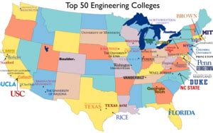 50 Best Colleges For Education by Engineering Education