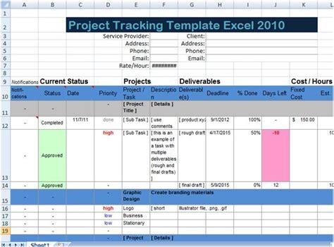 Project Management Summary Exle by 623 Best Images About Excel Project Management Templates