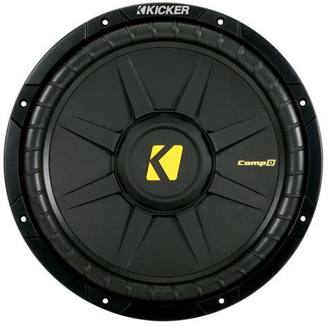 kicker cwd  car audio comp  series  subwoofer