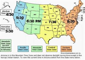map of time zones in united states geography us maps time zones