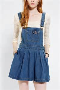 urban outfitters coincidence chance pleated denim overall
