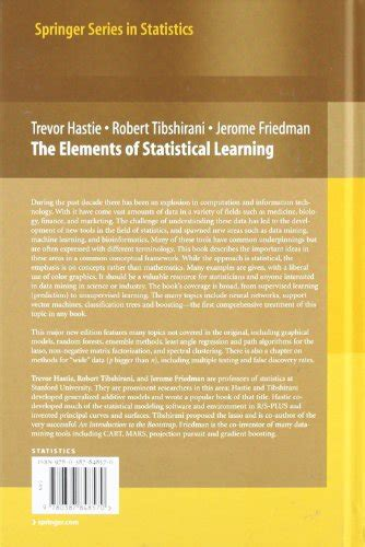 libro the 5 elements of libro the elements of statistical learning data mining inference and prediction di trevor