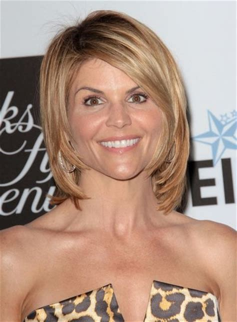 Short Hair Styles Like Lori Morganslv   short hairstyles bobs celebrity pictures and lori loughlin