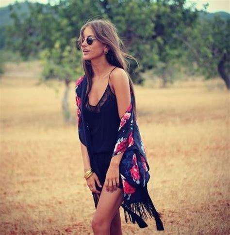 Bohemian L by Jacket Kimono Pink Black White Grey Fashion
