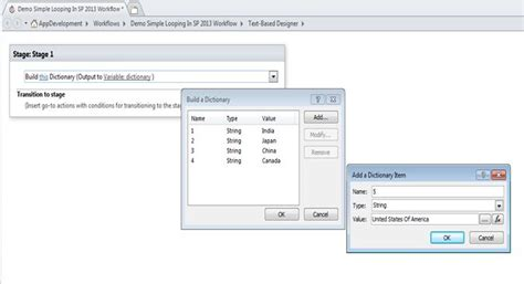 sharepoint designer 2013 workflow loop sharepoint designer 2013 workflow to loop through items in