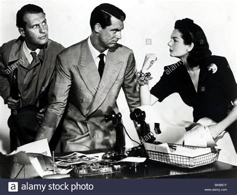 themes in his girl friday his girl friday 1940 ralph bellamy cary grant rosalind