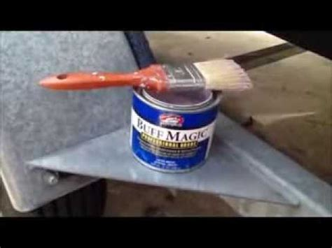 how to remove heavy oxidation from fiberglass boat wipe on clear coat rv s boats no buffing required doovi