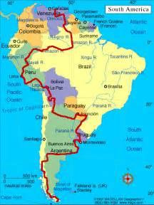 tierra fuego south america map atravesando fronteras south america by bicycle