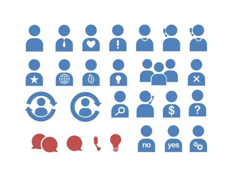 Business People Icons For Powerpoint Images For Powerpoint