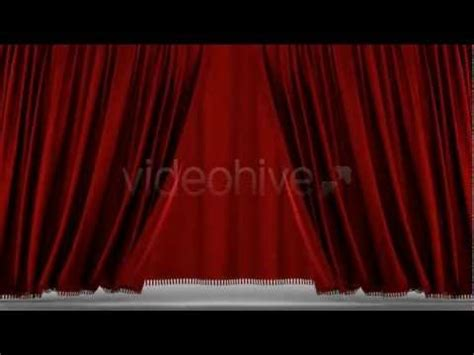 template after effects opening very realistic opening red curtain cinematic after