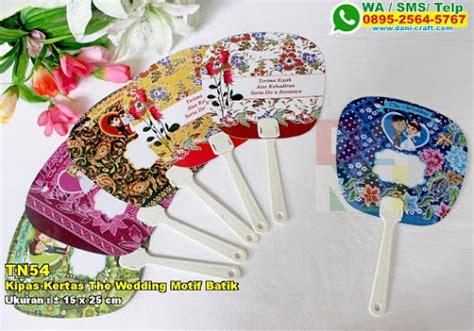 Pulpen Kipas Motif Boneka Imut kipas kertas the wedding motif batik souvenir pernikahan